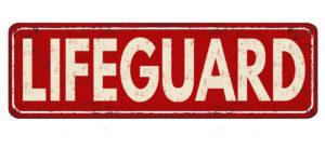 Lifeguard sign illustrating our lifeguard recruitment services